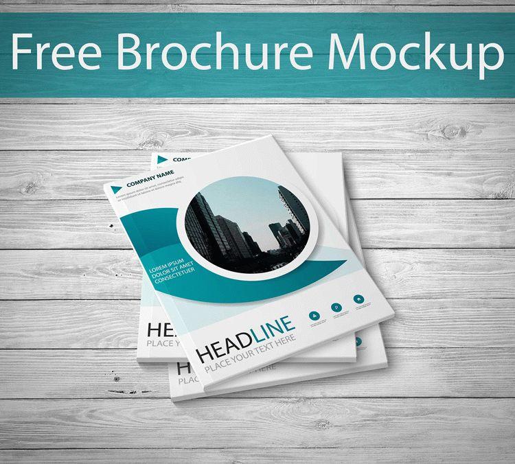 Free Download PSD Brochure Mockup