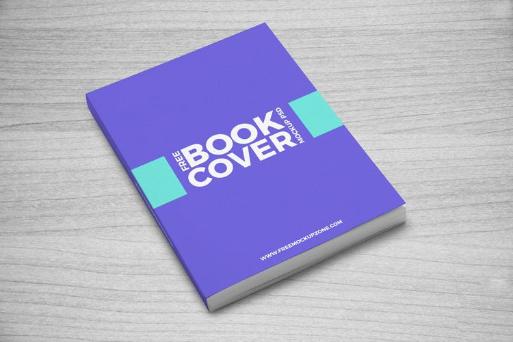 Book Cover Template Free Psd : Free book cover mockup psd download