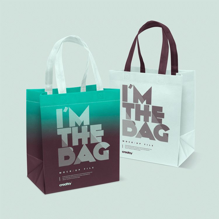 Free Download Bags Mockup