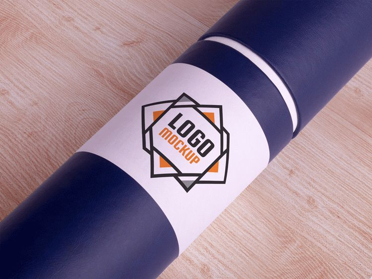 Free Download Paper Tube Mockup