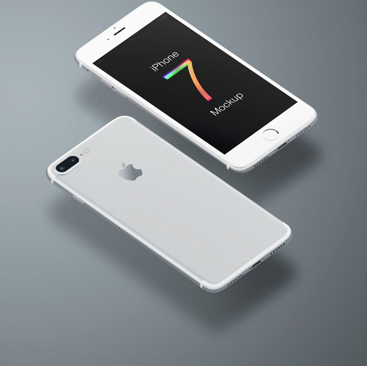 Free iPhone 7 Plus Mockup