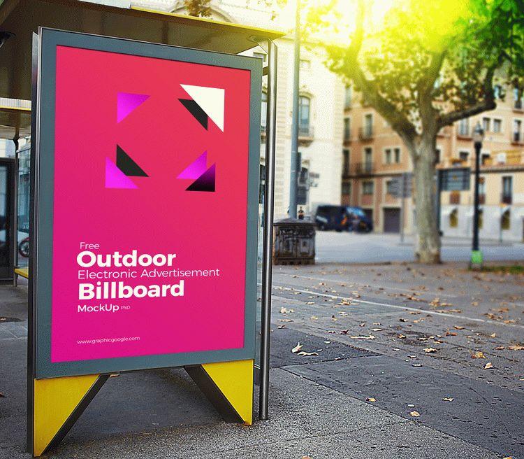 Outdoor Electronic Advertisement Billboard