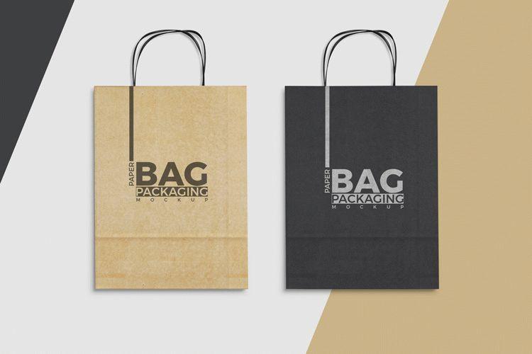 Free Paper Bag Mockup To Showcase Packaging Designs