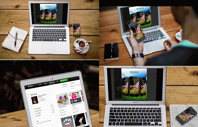 Free Responsive Screen Mockup