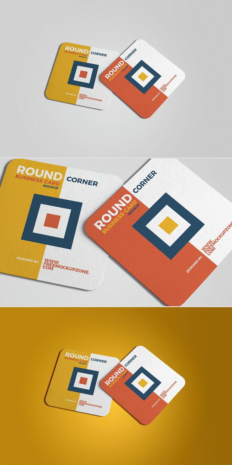 Free square round corner business card mockup 2018 download thanks to free mockup zone for this awesome mockup showcase your square business card reheart Gallery