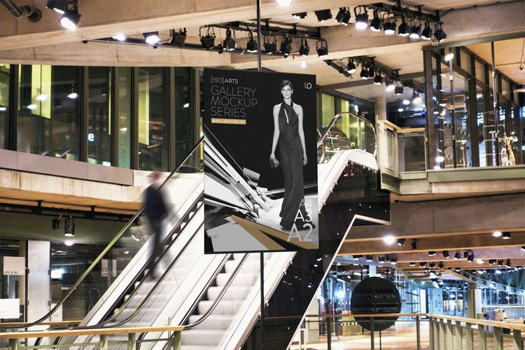 Gallery Mock-Up Series • Mall Edition V3
