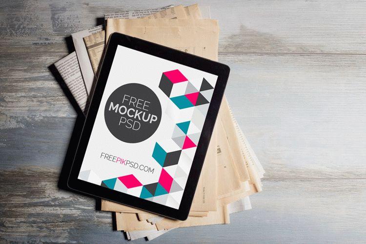 iPad Pro PSD Mockup Free