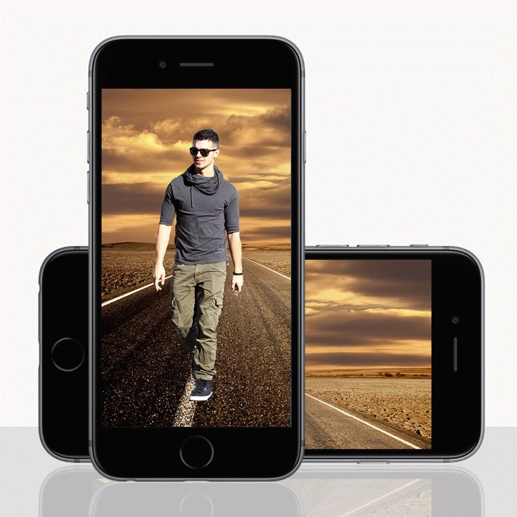 Mobile Mock Up PSD Template
