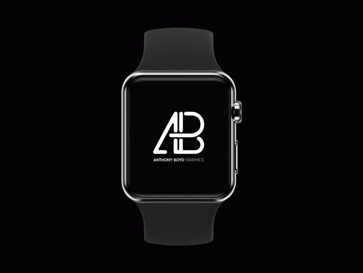 Realistic Apple Watch Series 2 Mockup Vol.3