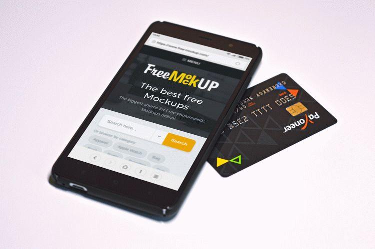 Smartphone – Free PSD Mockup