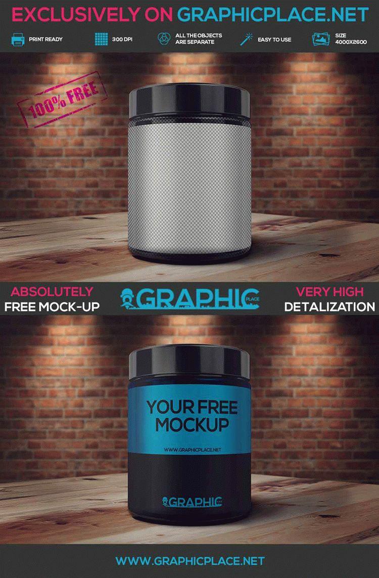 Sport Bottle - Free PSD Mockup