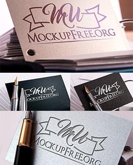 Logo Mockup With Logo
