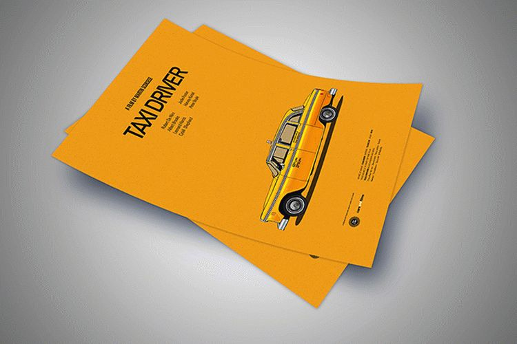 Free Clean A4 Paper Mockup