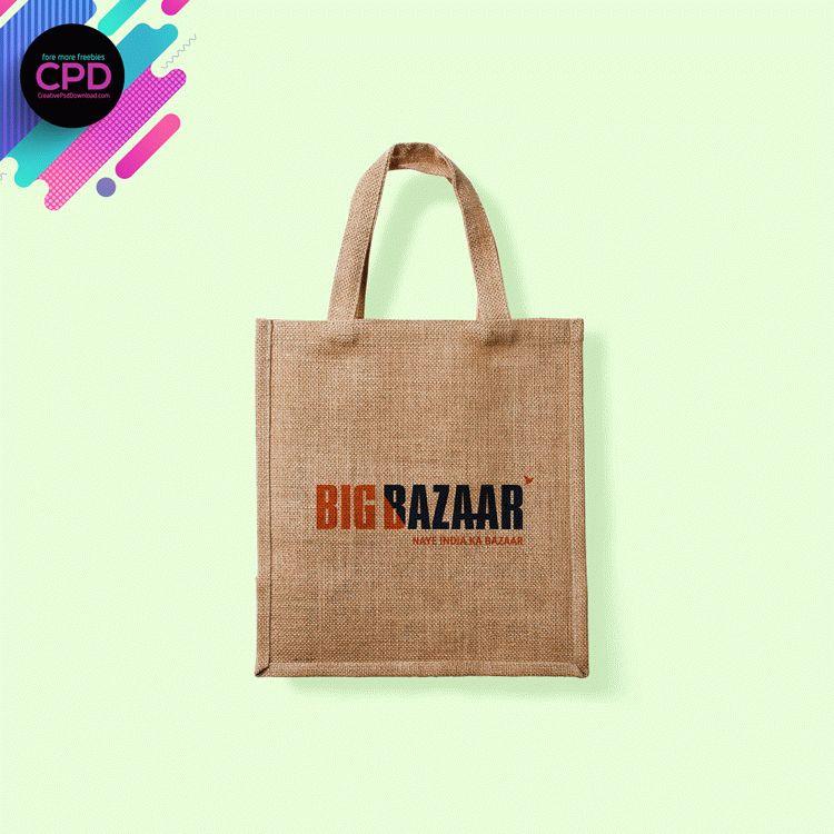 Shopping Bag Free Mockup Psd
