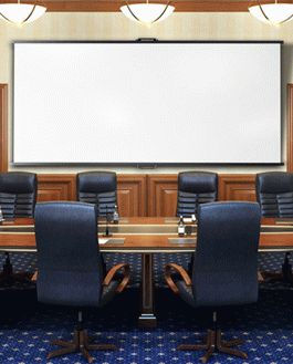 Conference Room - Free PSD Mockup | Download