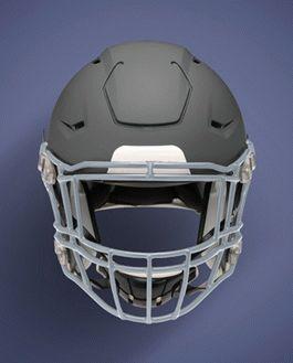 football helmet template psd