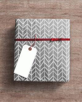Free gift wrap box psd mockup download negle Images