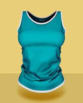 Female Tank Top PSD Mockup | Download