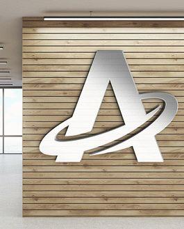 FREE 3D Office Logo Mock Up | Download