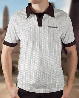 Man Polo Shirt Premium Mockup With Logo