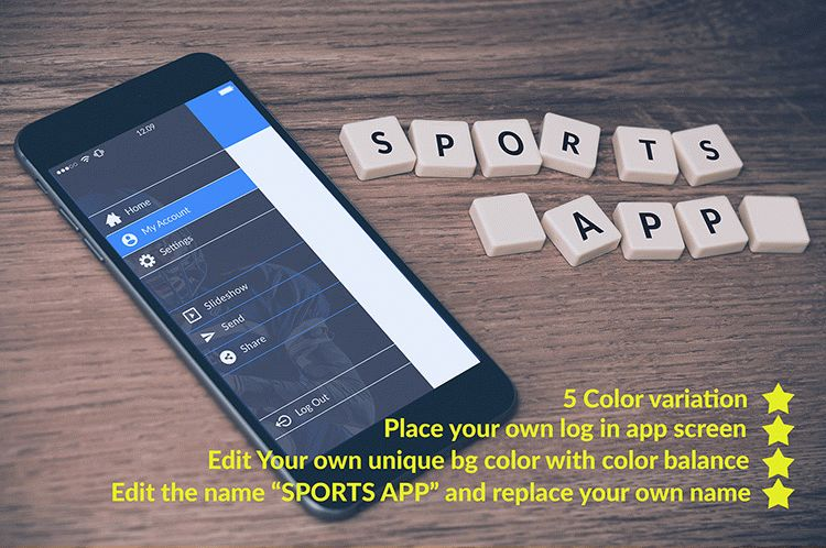 Freebie Log In app screen mockup